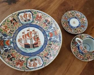 Antique asian porcelain
