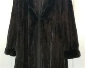 Worlds Finest BlackGlama Mink by Henig Furs - Have receipt