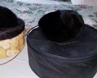Black Mink Hats