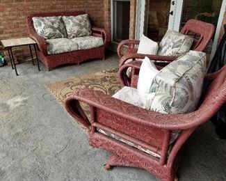 Custom-Made Outdoor Furniture Set