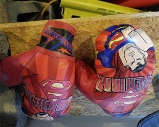 Superman Boxing Gloves