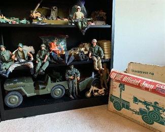 Vintage Toys GI Joes