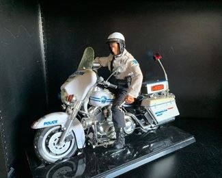 Toys Motorcycle Cop Doll