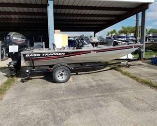 2012 Bass Tracker Pro 165 Fishing Boat