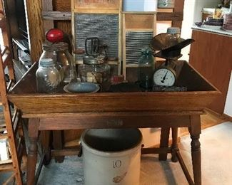 Koehler and Hinrichs Antique dry sink