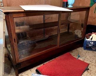 Large Vintage Mercantile display Case