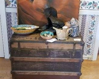 Vintage Trunk and Southwestern treasures