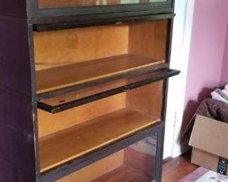 Vintage lawyer's book shelf