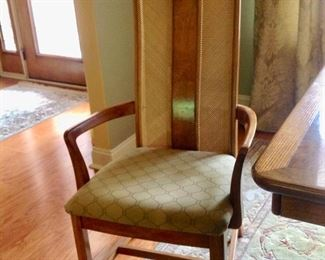 One of the chairs to the Dining Set