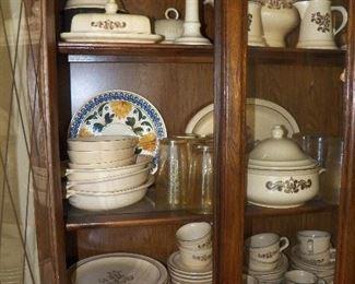 Pfaltzgraff pottery --many pieces