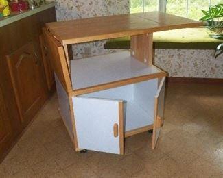 Nice kitchen work cabinet