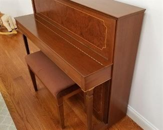 Schimmel upright piano. From Germany.