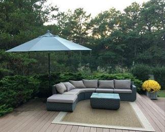 Backyard furniture set