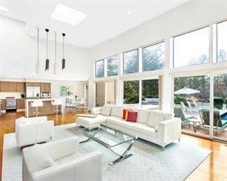 Beautiful living room set.