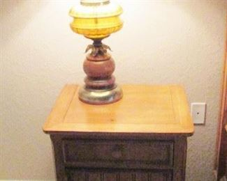 LAMP ONLY $35 SILK SHADE