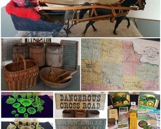 Estate Sale in Reedsburg Wisconsin May 31 - June 2.  Three generations of items!