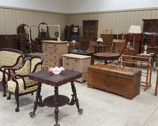 Lots of Beautiful Furniture