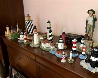 Collection of Lighthouses with boxes