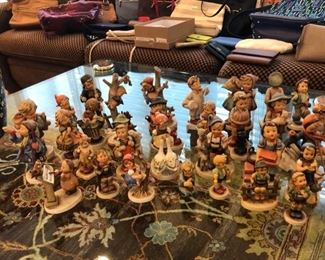 Look at all these Hummel figures!