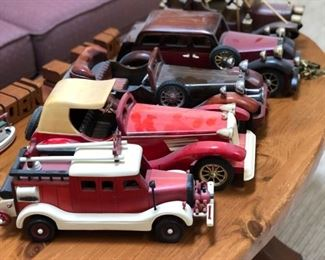 Wood car collection