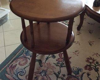 Unique Maple end table
