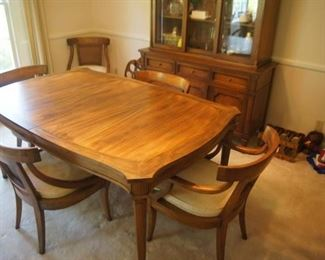 Dining set, 2 leaves