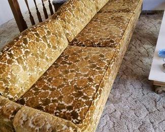 Great Large Retro 70's Sofa