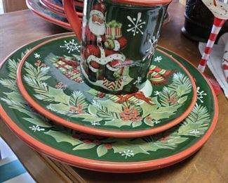 Christmas Dish Set