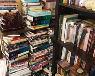 PLENTY of cook books, art books, and religious books