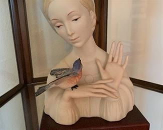 Cybis figurine