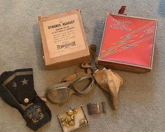 WWII pilot items