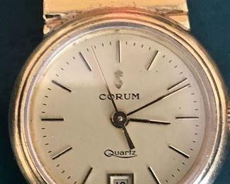18b kt gold watch  52.3 grams