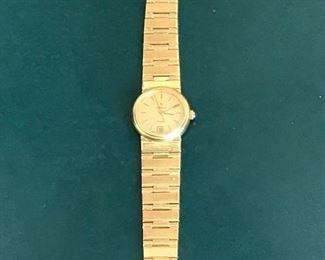 18 kt gold watch 52.3 grams