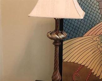 Intricate lamp