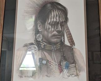 Native American Art by Joe Belt