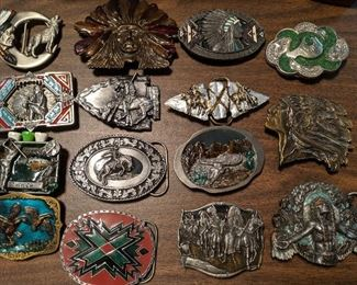 more vintage belt buckles, There are probably 30 more