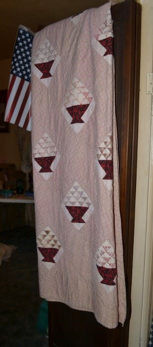 One of the first quilts