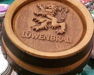 Lowenbrau Advertising Sign