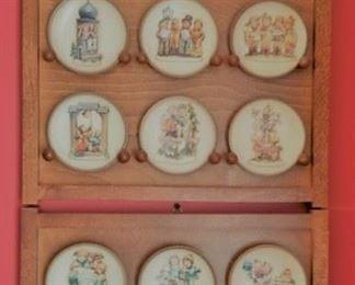 Miniture Hummel Plates
