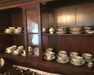 Variety of Tea Cups