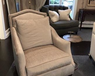 Huntington House Upholstered Chairs (2) with pillows