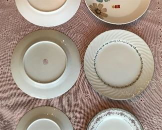 Noritake and Seyei china.  The complete Noritake casual dinnerware set is new.  One dinner plate is missing out of the 12 piece setting.