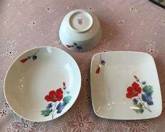 Noritake china. China is more vibrant than appears in photos.