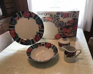 Sango Margaux dinnerware-some pieces are new.