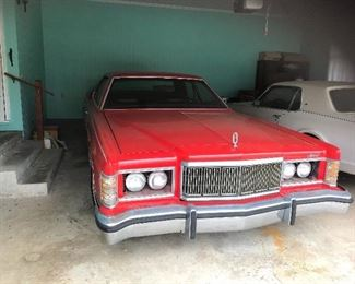 1977 Mercury Marquis special order.  One owner. Original mileage over 67,000.  Pristine original interior. Huge trunk. Does have an oil leak.