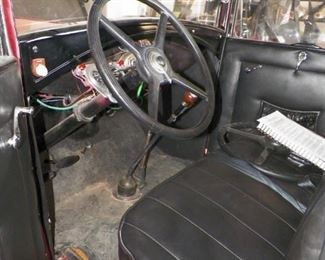 Interior 1931 Ford Model A Pickup