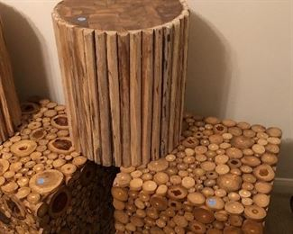 cool stools or end tables