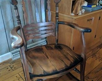 Handcrafted Country Rocker