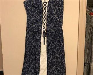 70s peasant dress