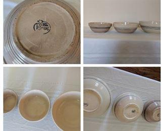 Pioneer bowl set of 3